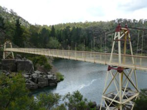 Cataract Gorge, Bridge, Tasmania Australia