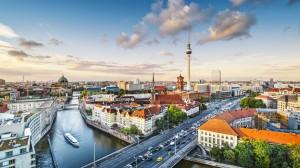 Munich city view Germany