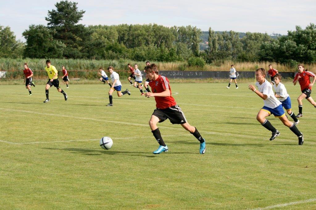 Boys field soccer