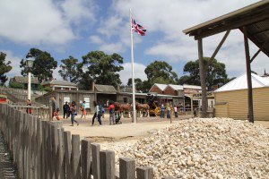 Sovereign Hill Procession and Flag