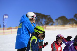 snowsports primary kids having fun