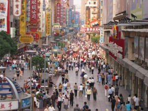 Nanjing Road Shanghai, China