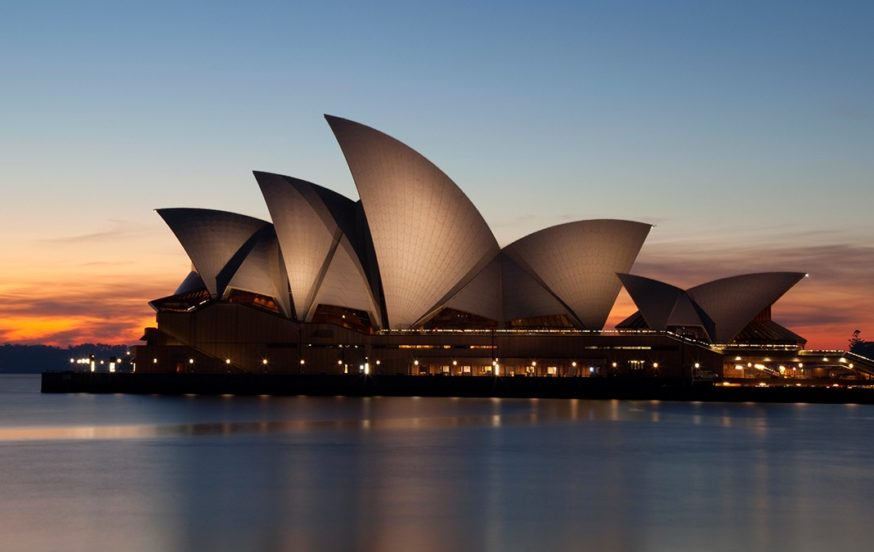 Opera House at Sunset