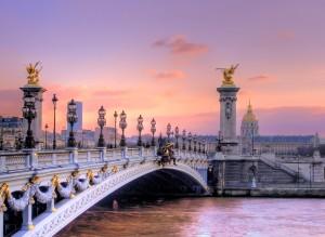 Alexander III Bridge, Paris, France