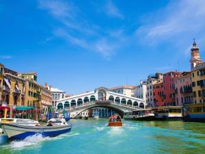 Venetian Canals and bridge