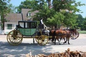 Colonial Horse and Carriage