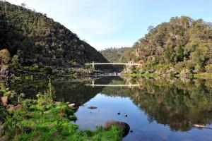 Cataract Gorge Tasmania Australia