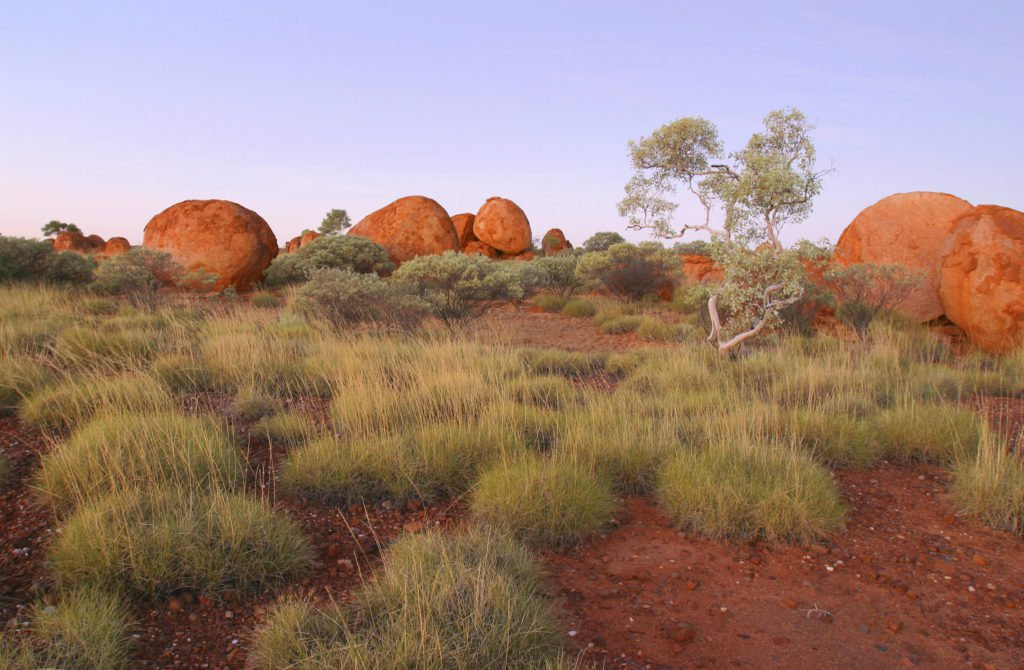 Devils Marbles. Northern Territory Australia