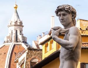 David statue Duomo Venice Italy