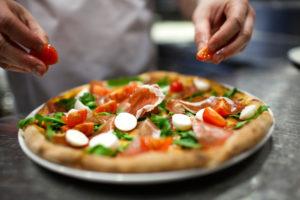 Prosciutto Pizza Italy