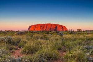 Uluru dawn Northern Territory Australia