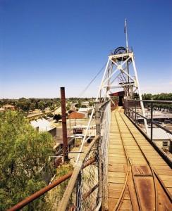 Central Deborah Mine Bendigo Victoria