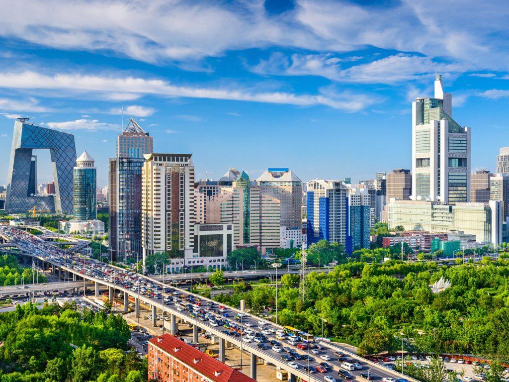 Beijing China City View