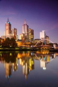 Melbourne Southbank View