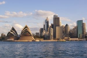 Opera House and Sydney Harbour