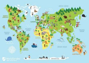 WorldStrides World Map