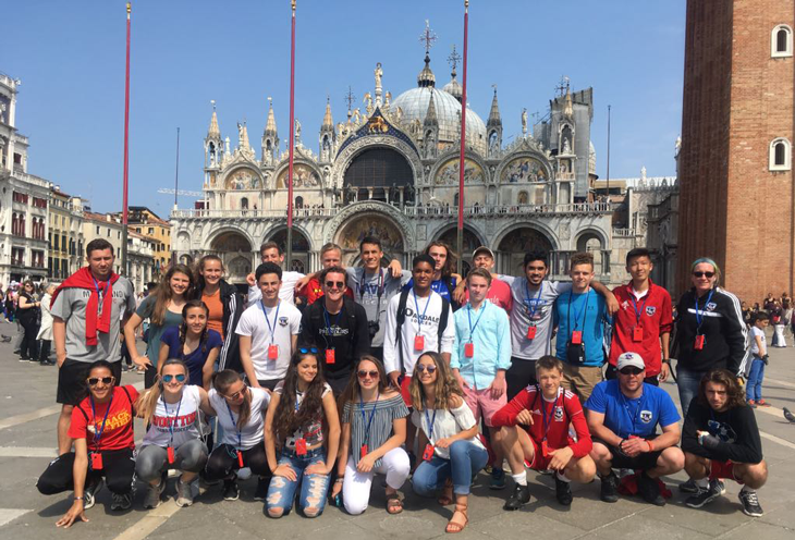 Italy-Venice-Maryland-State-Youth-Soccer-Association-ODP-Boys-and-Girls-in-Marco-Square-Venice